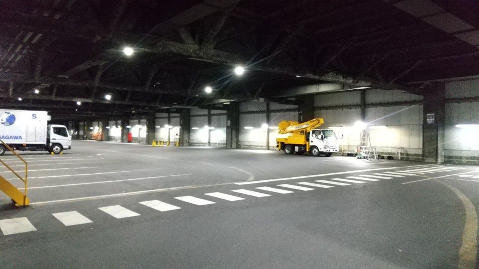 大手運送会社LED照明化工事 サブ02