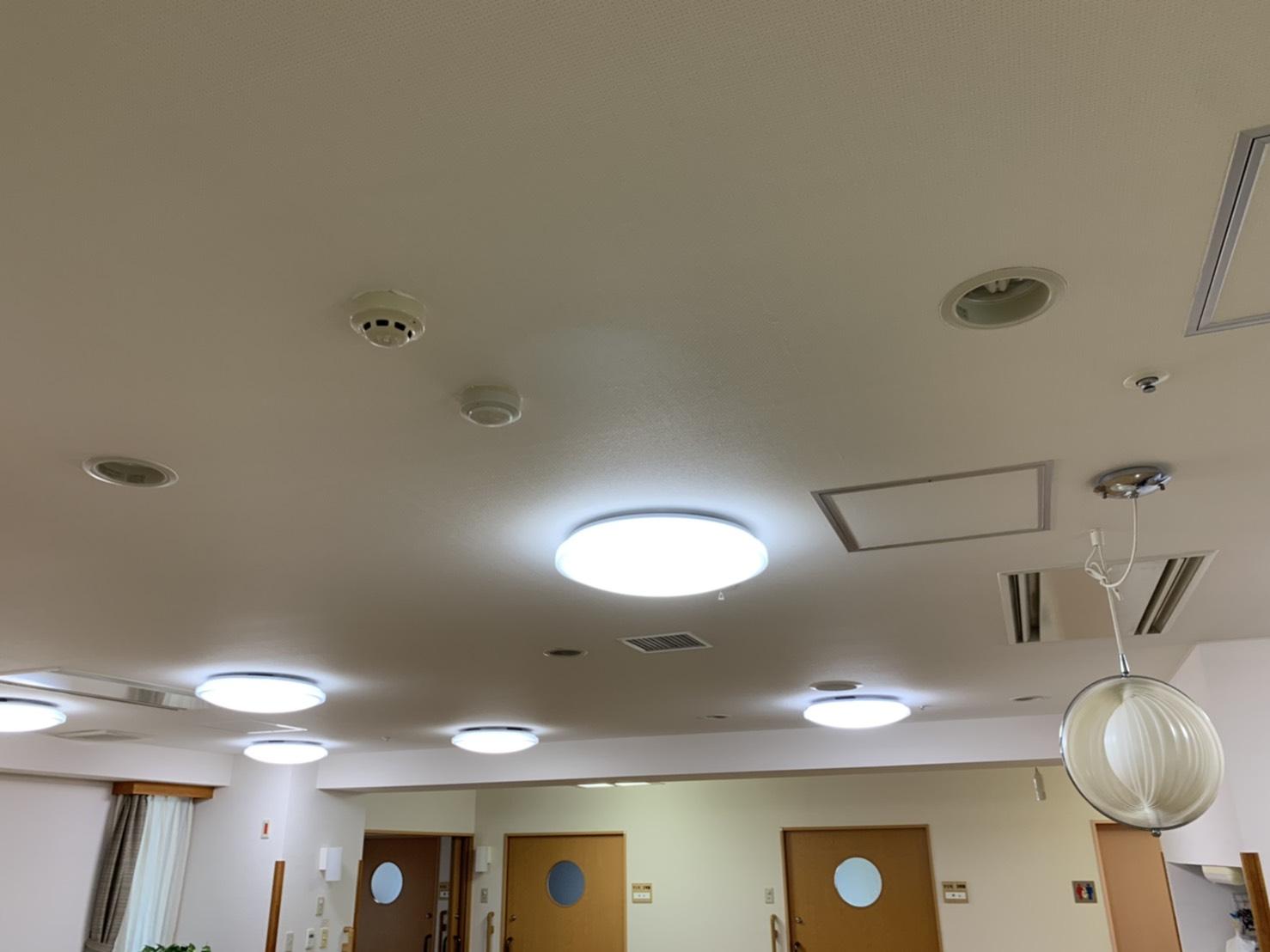 大手介護施設LED照明化工事 サブ01