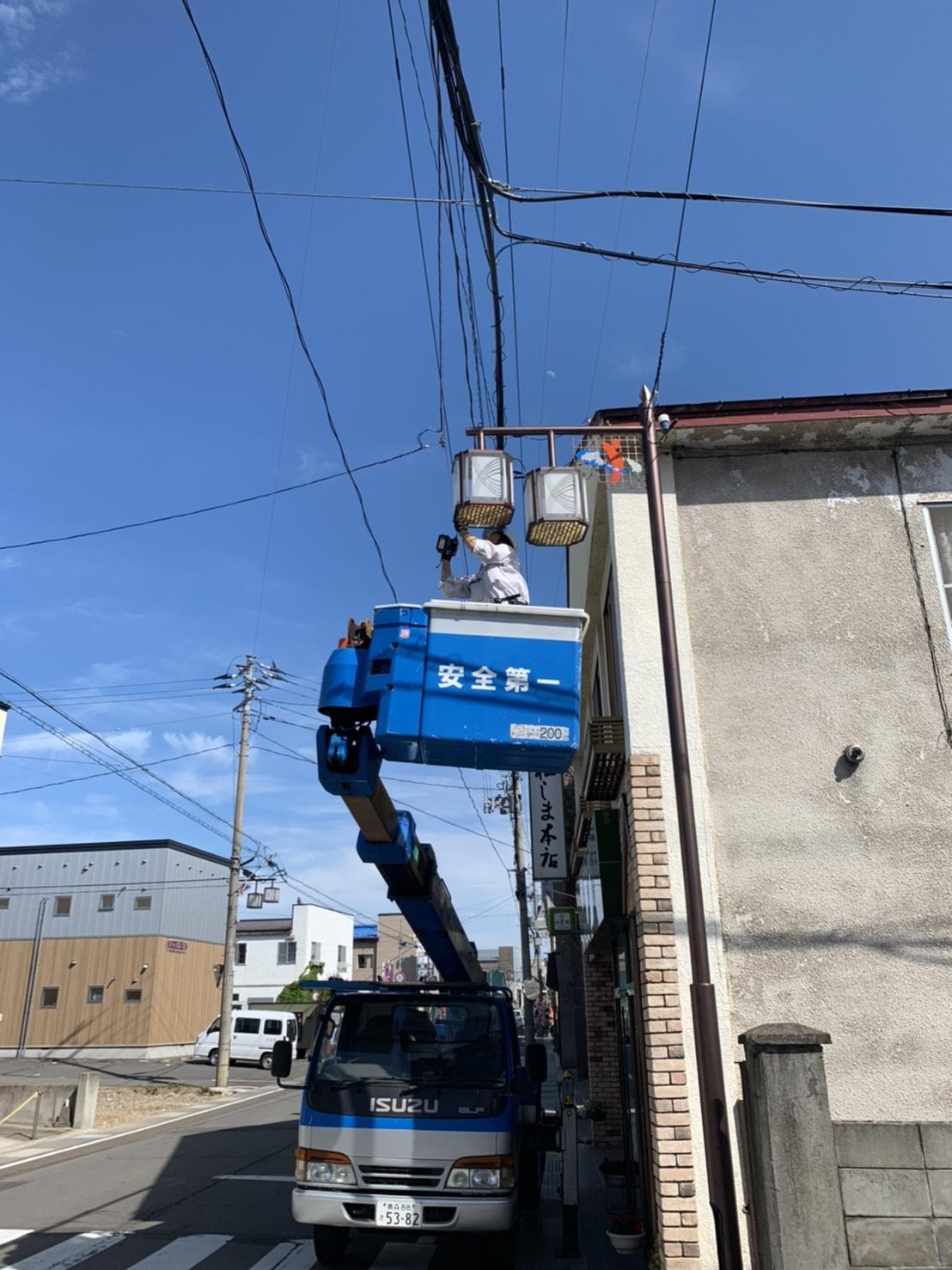 青森街路灯LED照明化工事 サブ01